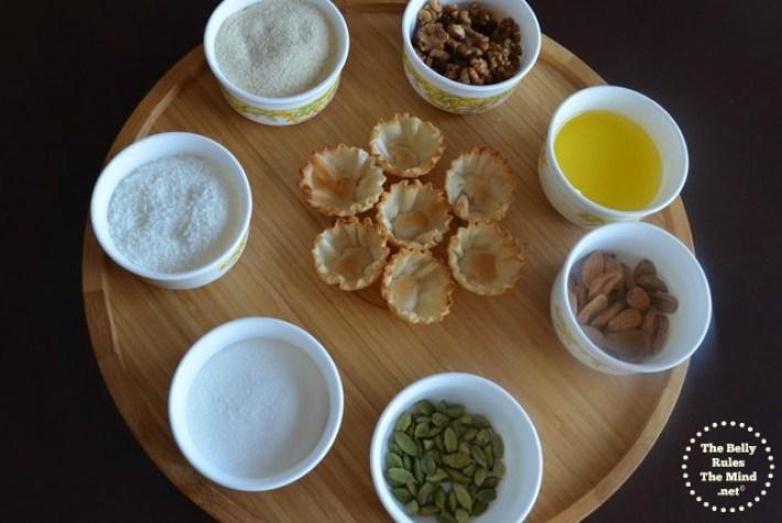 Ingredients for Skinny Baked Gujiya