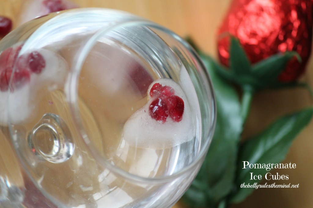 Pomagranate Ice Cubes 3