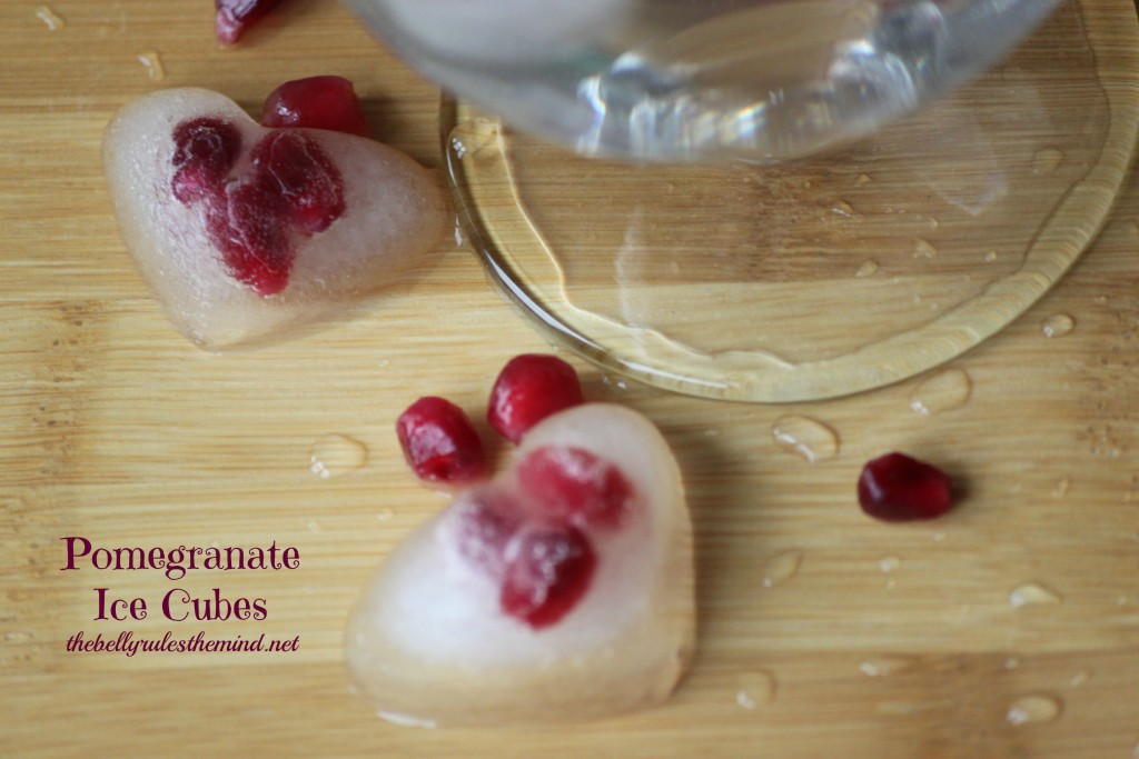 Pomegranate Ice Cubes 5
