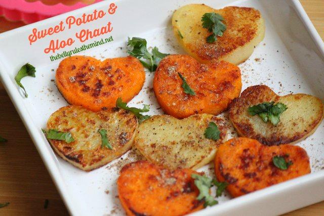 Sweet Potato & Aloo Chaat 1