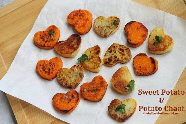 Sweet Potato & Potato Chaat