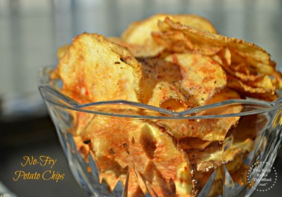 no-fry potato chips