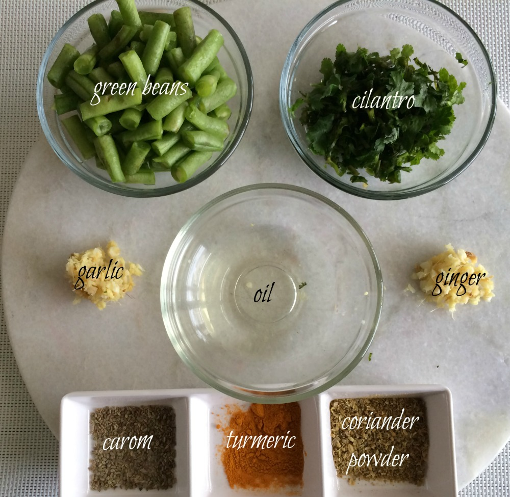 green beans ingredients