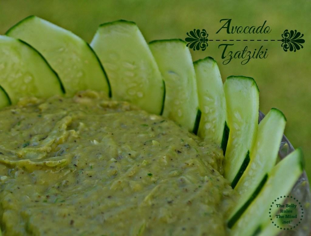 Avocado Tzatziki Dip