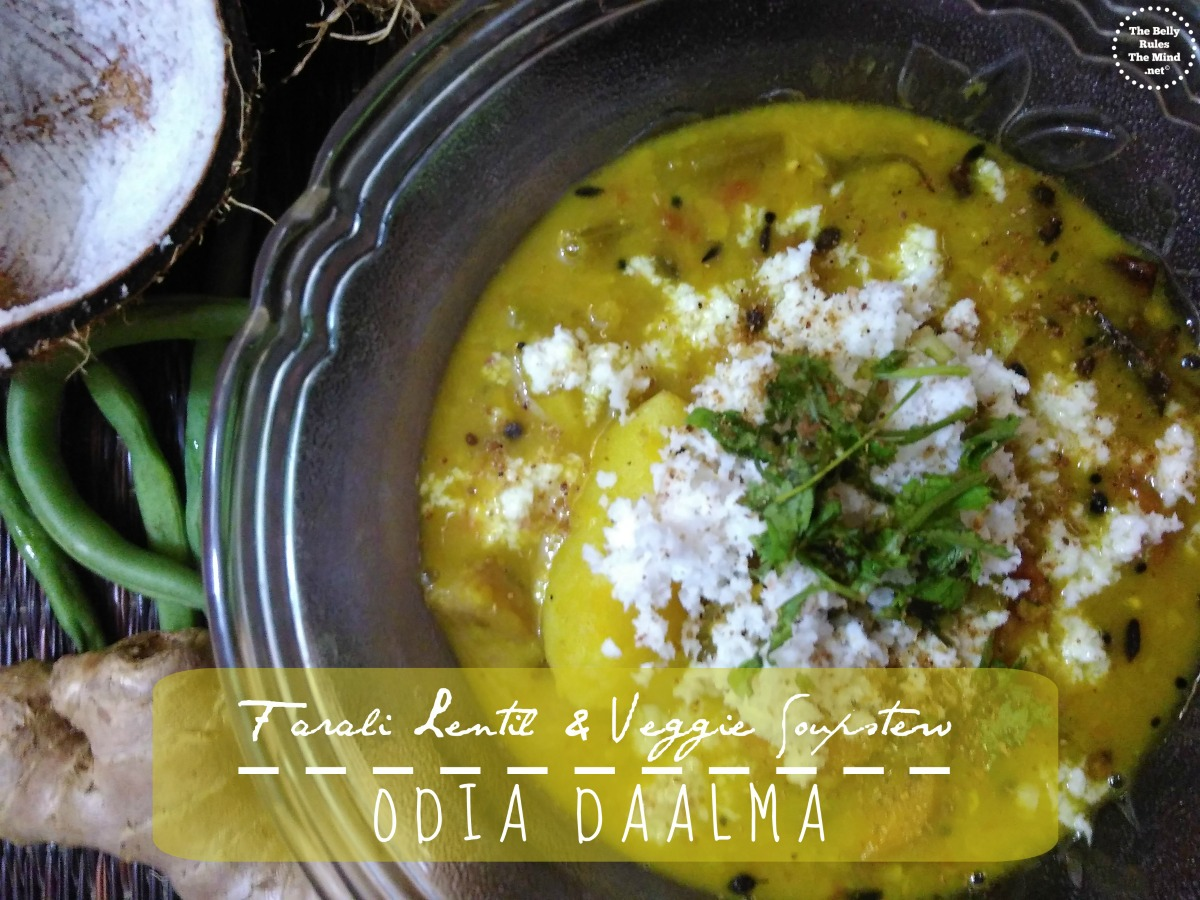 Farali Lentil & Veggie Soupstew : Odia Daalma