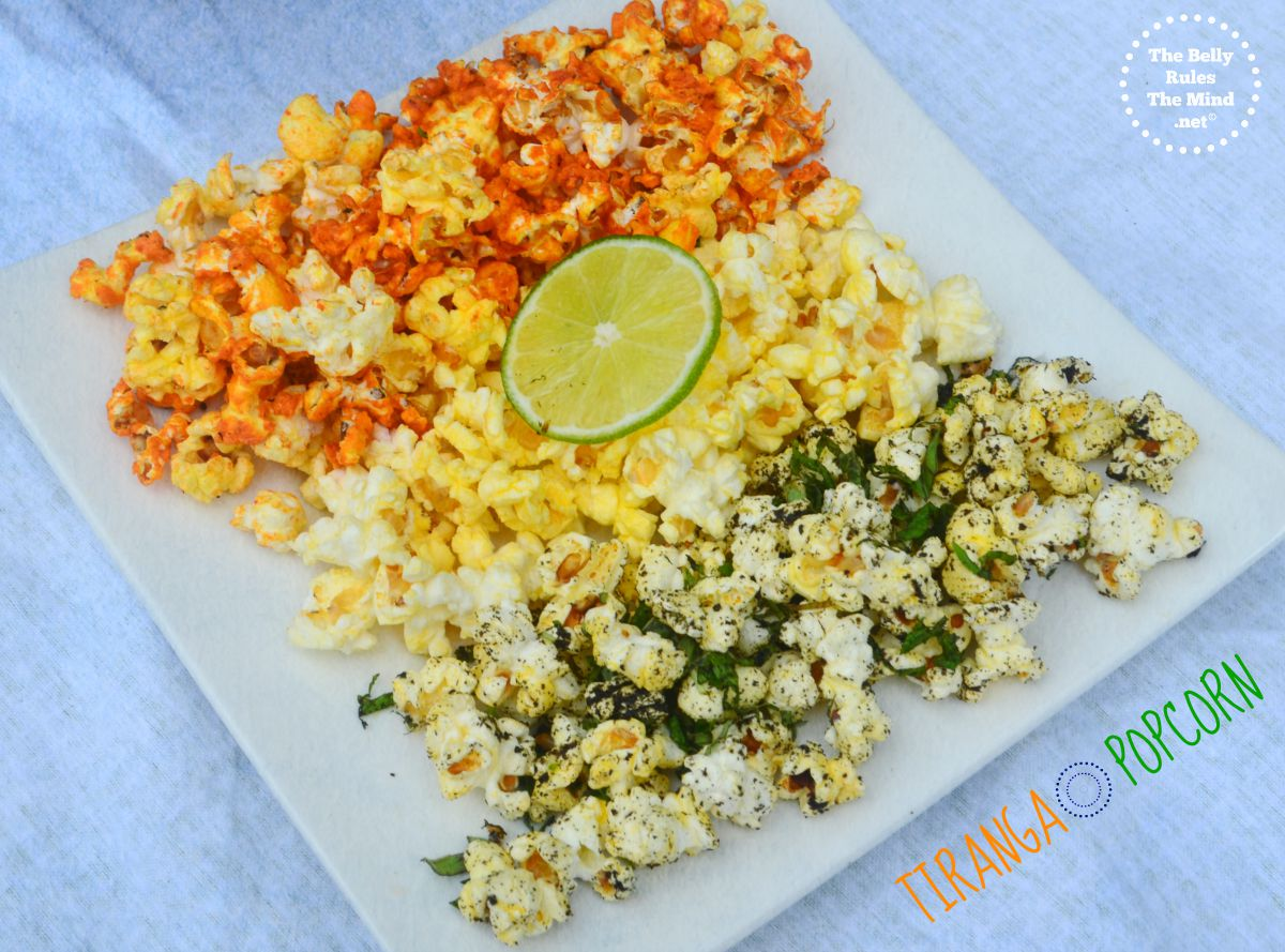 Tiranga Popcorn