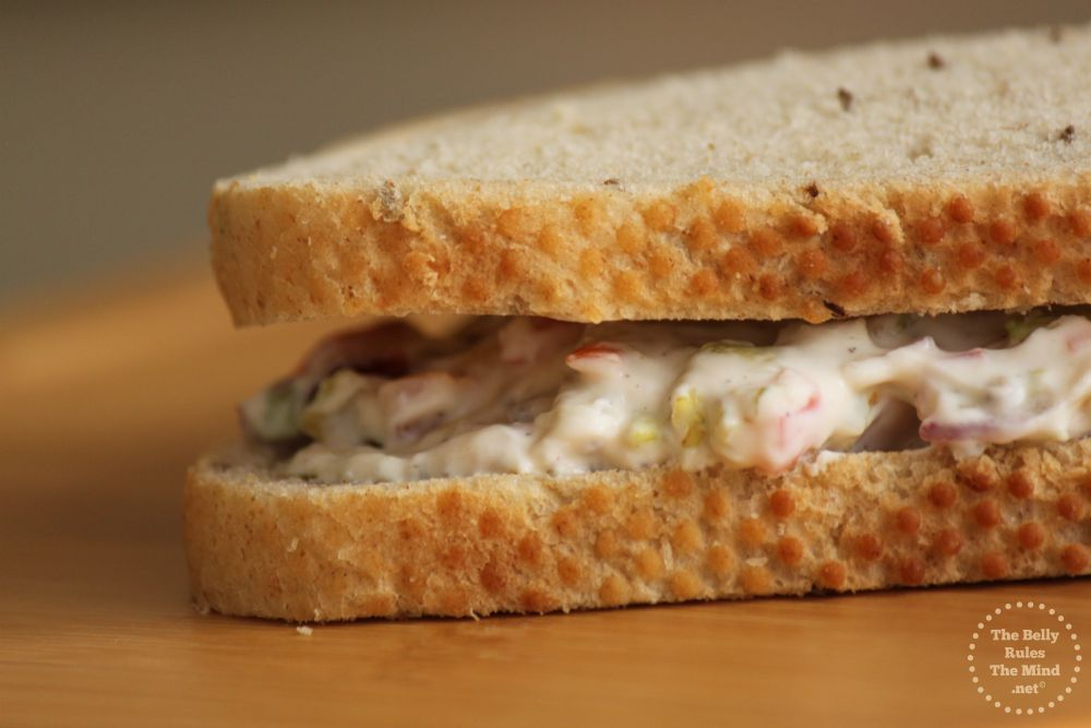 Eggless Vegetable Slaw Sandwich 1