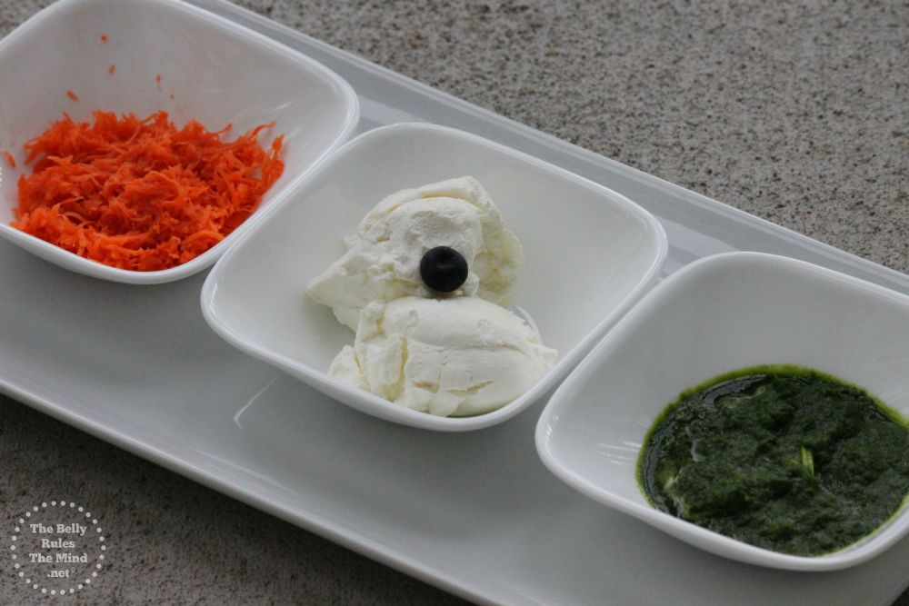 Triranga Sandwich ingredients