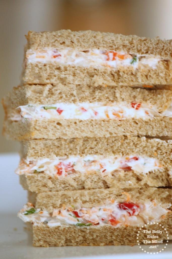 Vegetable Slaw Sandwich 2