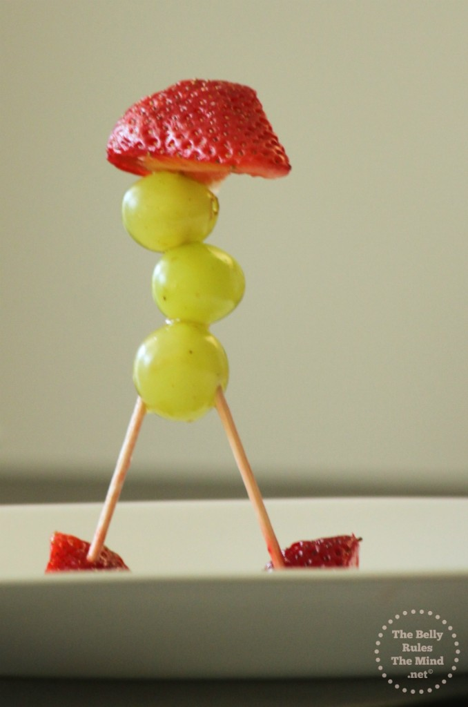Walking Robot Fruit Sculpture