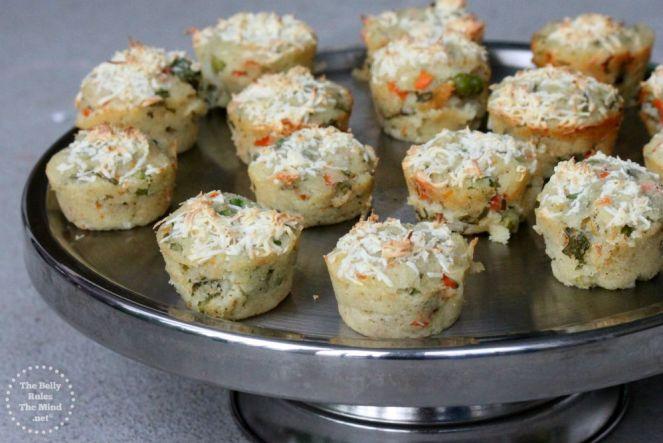 Tiranga Muffin