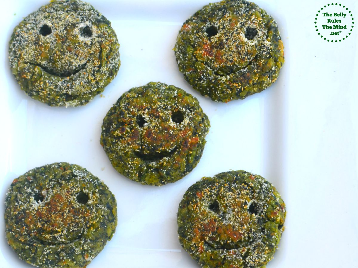 spinach smilies