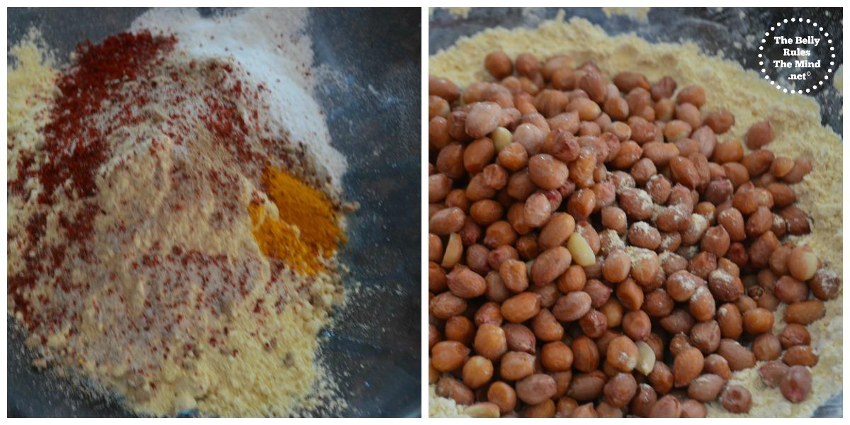 Instant masala peanut