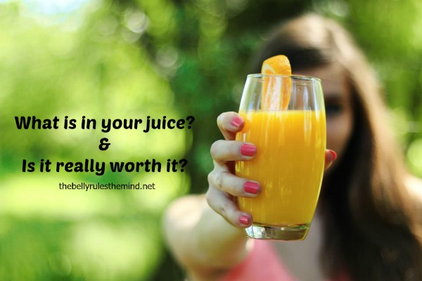 """What is in your juice?"" published on Huffington Post"