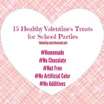 15 Healthy Valentine's Treats for School Parties