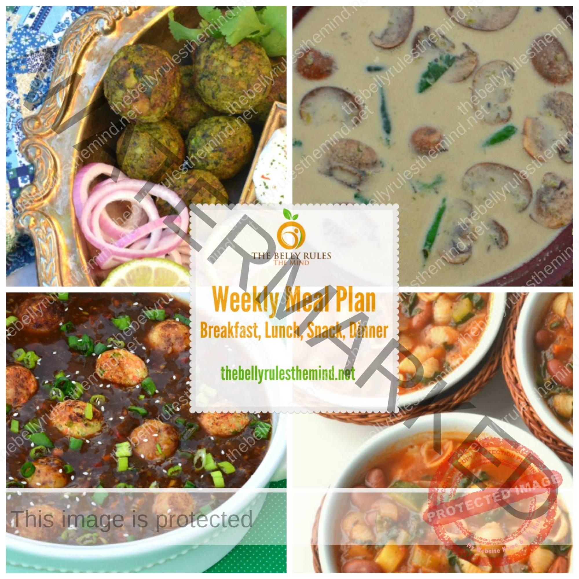 Meal Planner Mar 28 to Apr 3