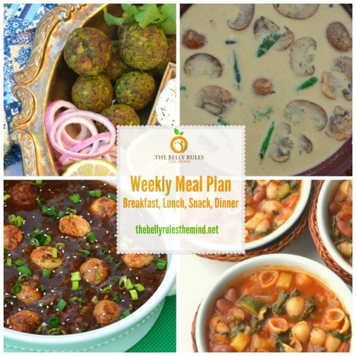 Meal Plan for Mar 28 to Apr 3 with Recipes