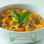 Chatpati Carrot Chutney