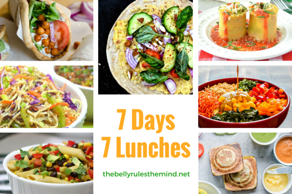 7 Days 7 Lunches