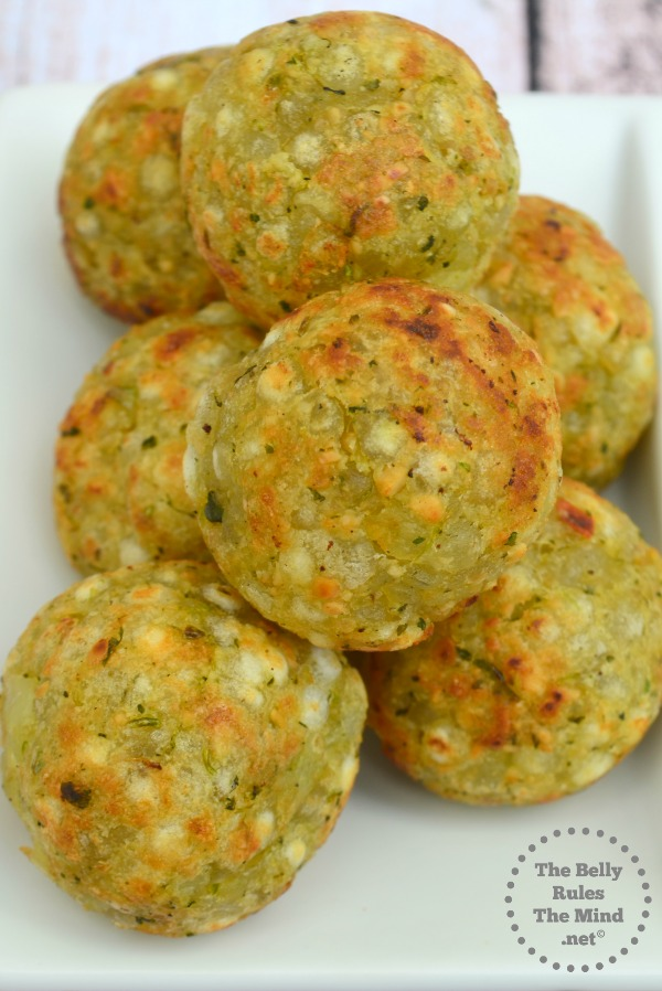 Sabudana vada made in appe pan