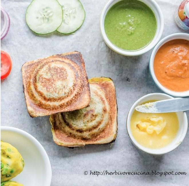 masala toast by herbivore cucina