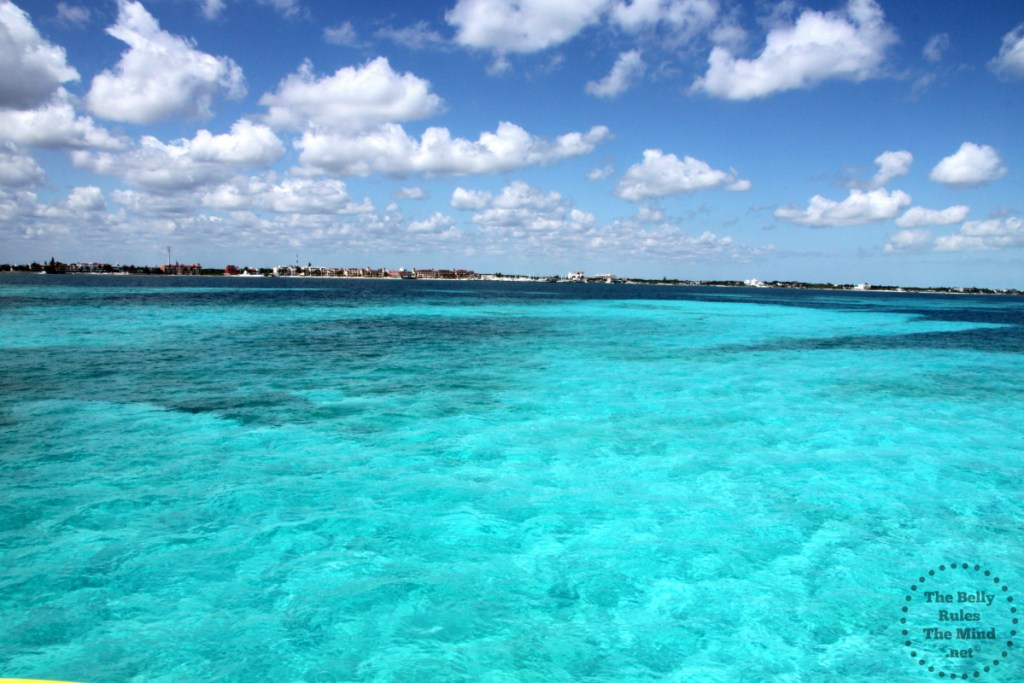 From the ferry, on the way to Isla Mujeres