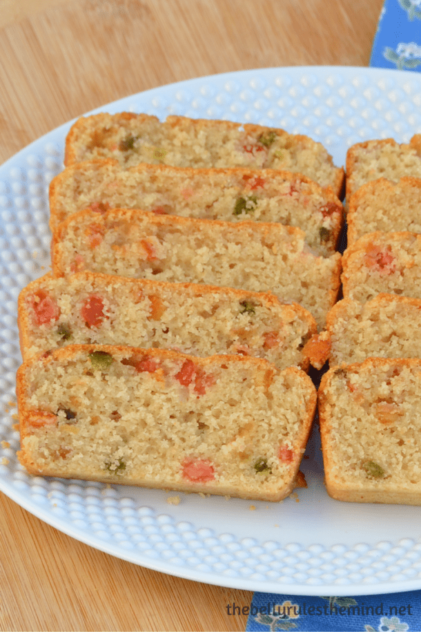 how to make eggless fruit cake