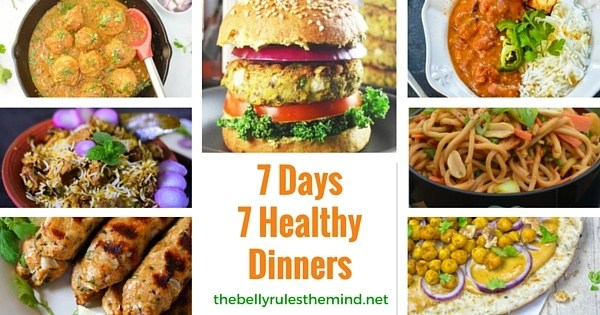 7 Days 7 Healthy Dinners
