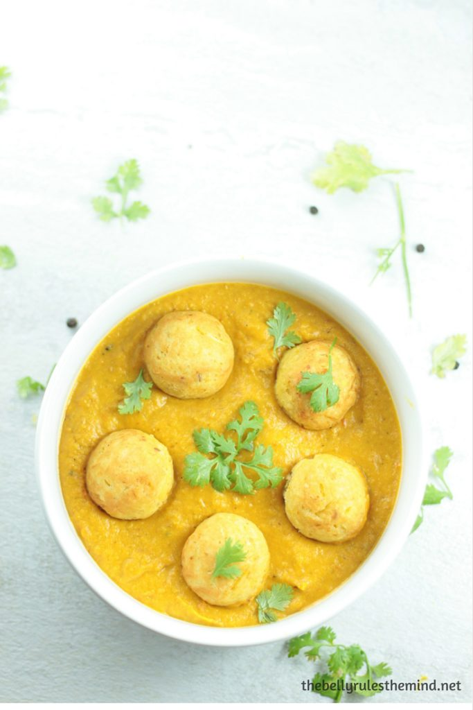 Squash Kofta Curry