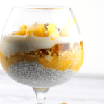 Chia Oats Breakfast Parfait (Vegan & Gluten Free)