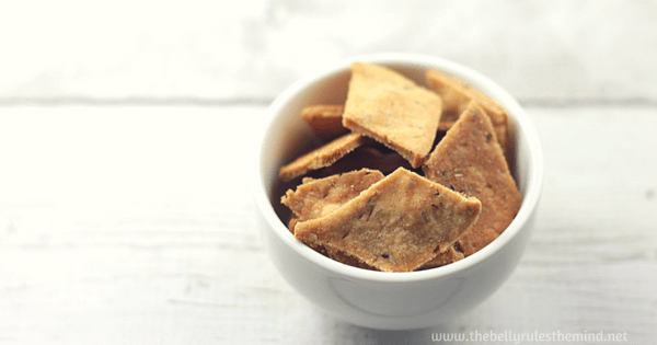 Pizza Flavored Namak Pare / Savory Crackers