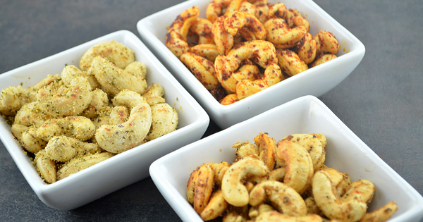 Roasted Cashew nuts ( 3 Flavors )