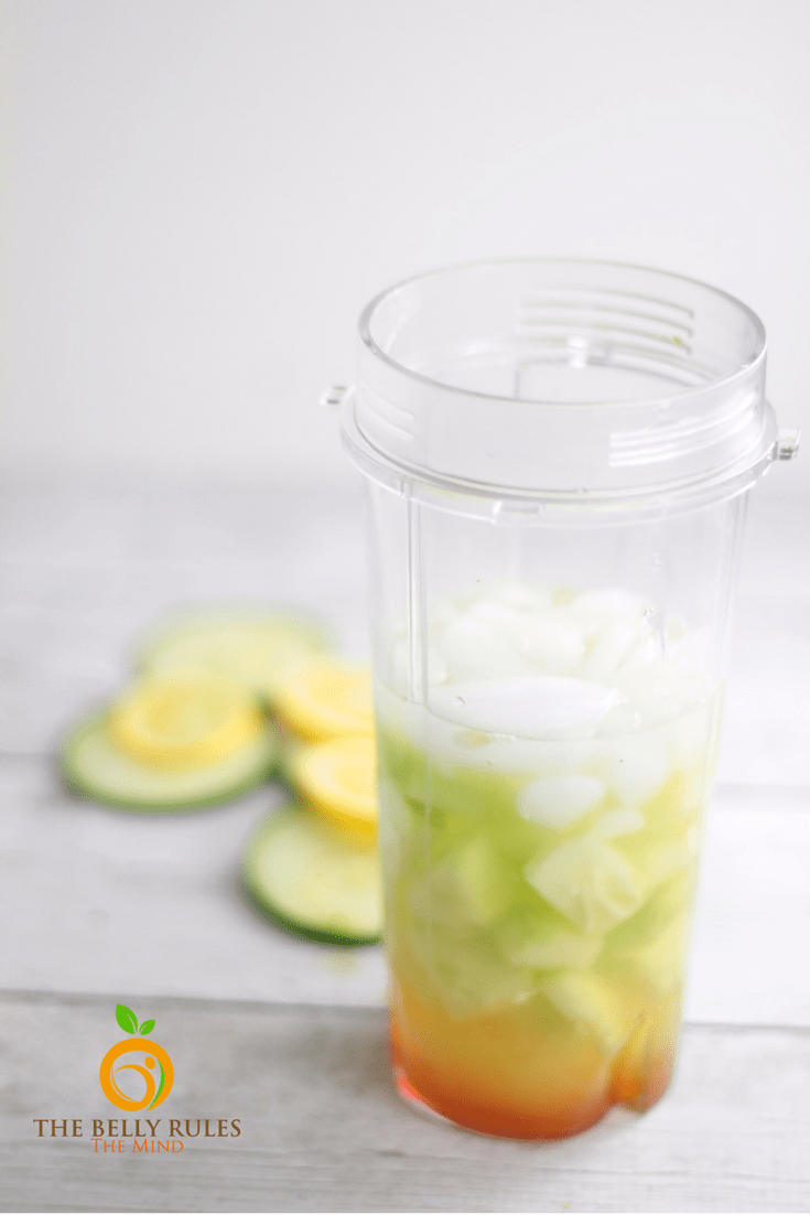 Cucumber Basil Lemonade spring summer drink