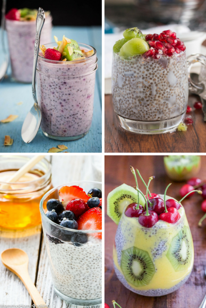 Healthy, No-Cook, Make-Ahead Breakfast Chia Puddings from The Belly Rules The Mind