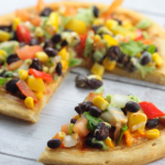 CPK inspired Spicy Chipotle Vegetarian Pizza