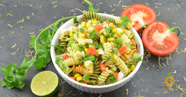 Pasta Salad with Indian Twist