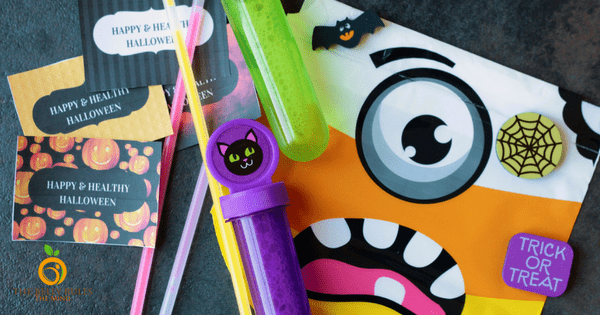 20+ Fun Treat Ideas for a Healthy Halloween+ Free Printable