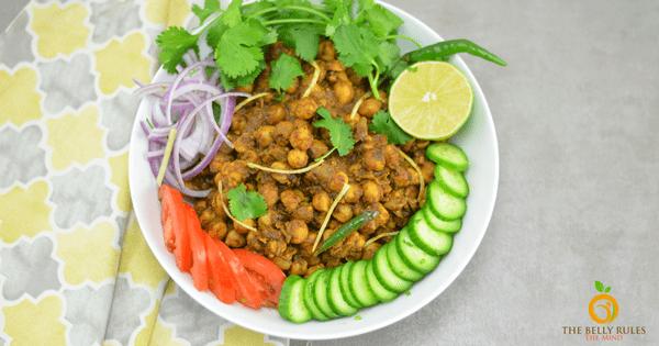 Pindi Chole / Indian Style Dry Garbanzo Beans