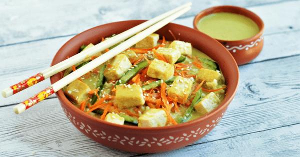 Thai Tofu Buddha Bowl (V+GF)