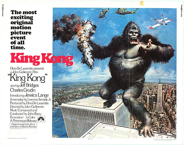King Kong, World Trade Center 1976