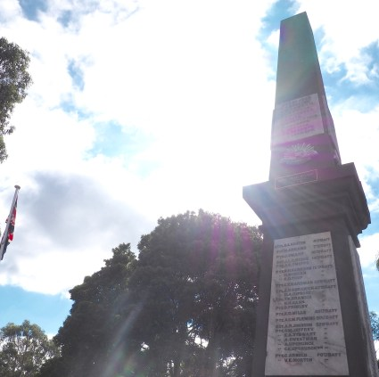 The local Cenotaph