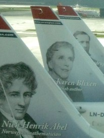 Karen Blixen -fantasy writer best known for Babette's Feast and her autobiography, Out of Africa