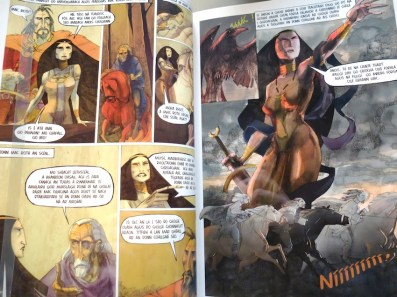 One of the most recent retellings of the Táin, by Colmán Ó Raghallaigh, Barry Reynolds and the Cartoon Saloon
