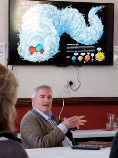 Chris Riddell talks to illustrators