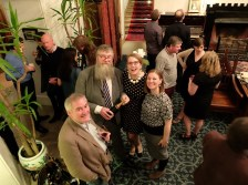 Chris Riddell, Philip Ardagh, Sarah McIntyre and Elaina Ryan