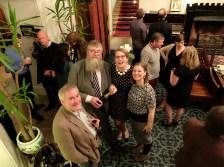Chris Riddell, Philip Ardagh, Sarah McIntyre and Elaina Ryan