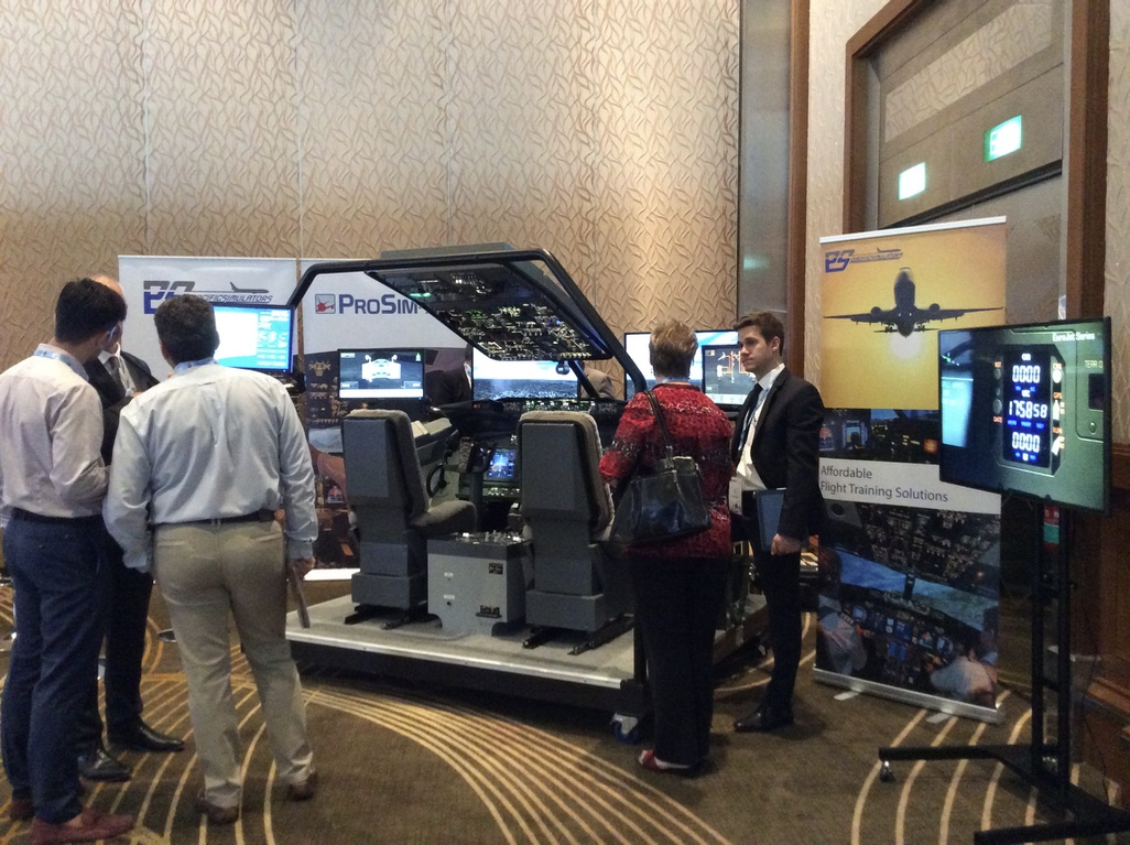 Exhibitors showcased a range of training products and systems at APATS 2016.