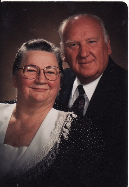 Grandma and Grandpa at the stage of life where I have the most vivid memories.