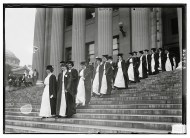 Great Great Aunt Elsie graduating from Barnard College