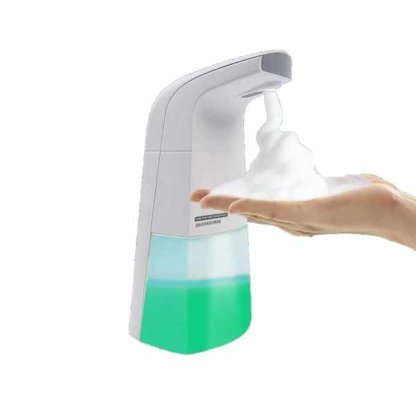Dispenser Inteligente Para Lavar As Mãos - Saboneteira Automática Wash Clean® 250ML - The Best Acessórios